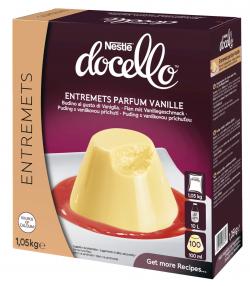 Entremets parfum vanille