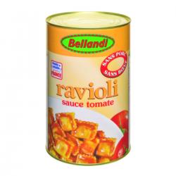Ravioli sauce tomate sans porc sans boeuf