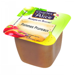 Compote pomme-pruneaux