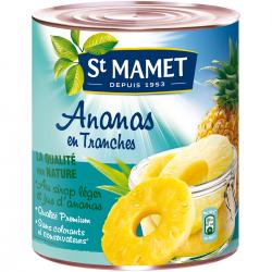 Ananas tranches entières