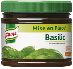 Mise en place basilic