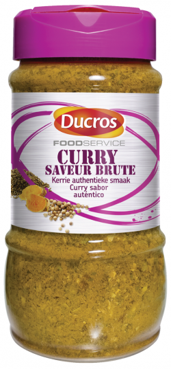 Curry saveur brute