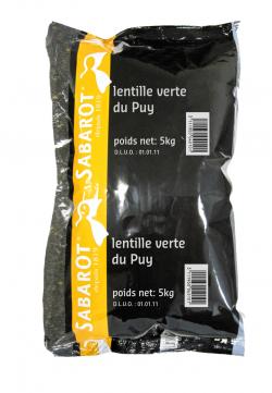 Lentille verte du Puy AOC