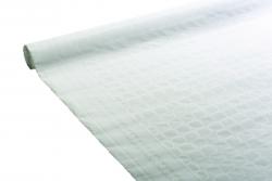 Nappe papier damassé couleur blanche