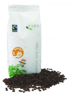 Café grain 100% arabica BIO et équitable