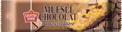 Barre de céréales et chocolat
