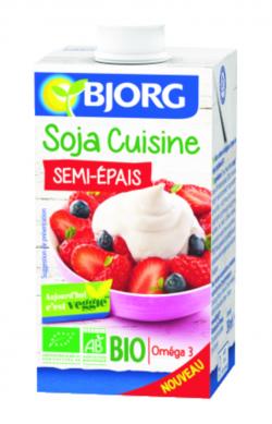 Soja cuisine semi-épais BIO
