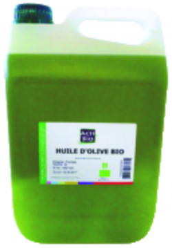Huile d'olive extra vierge BIO