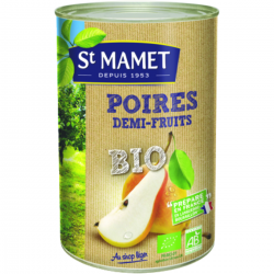 Poires demi-fruits BIO