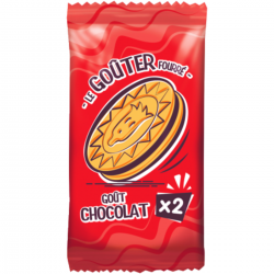 Biscuit fourré goût chocolat