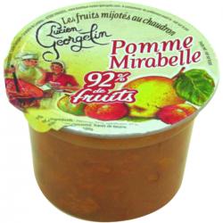 Dessert mirabelle-pomme