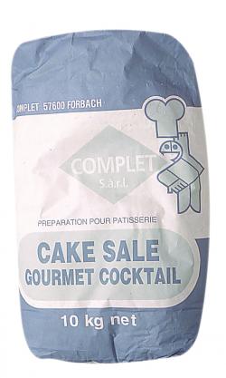 Préparation pour cake salé
