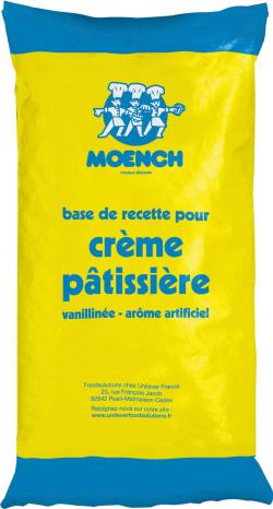 Base pour crème pâtissière