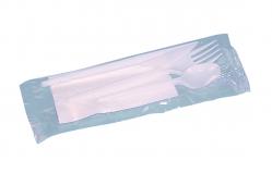 Kit couverts blancs