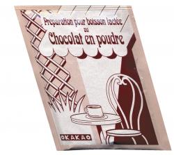 Boisson lactée chocolatée