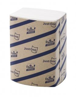 Serviettes couleur blanche 2 plis 16x24 cm
