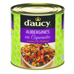 Caponata d'aubergines cuisinée à la sicilienne