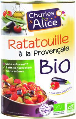 Ratatouille à la provençale BIO