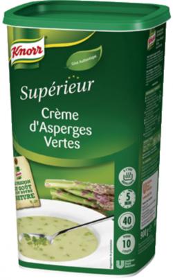 Crème d'asperges vertes