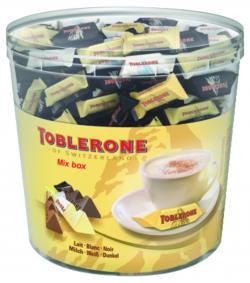 Panaché de mini chocolats (lait, blanc, noir)