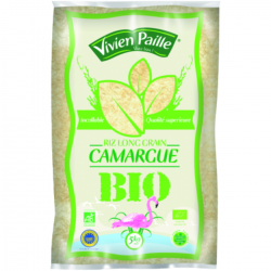 Riz long grain IGP Camargue BIO