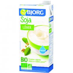 Boisson soja léger calcium BIO