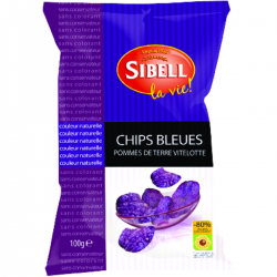 Chips bleues